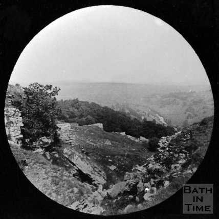 View from the rocks at Bathampton near Bath?, c.1880
