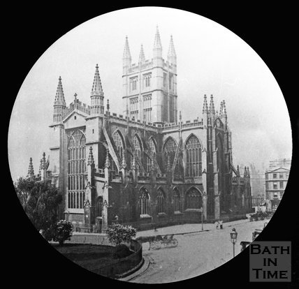 Bath Abbey, Orange Grove, Bath, c.1880