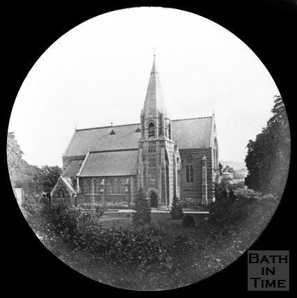 St Johns Church, Bathwick, Bath, c.1880
