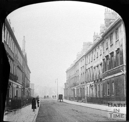 Pierrepont Street, Bath, c.1880