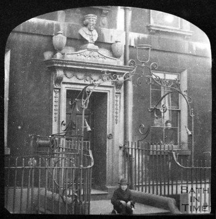 Alfred House, Alfred Street, Bath, c.1880