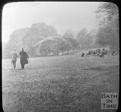 The Bandstand, Royal Victoria Park, Bath, c.1880