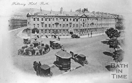 The Pulteney Hotel, Laura Place, Bath, c.1910