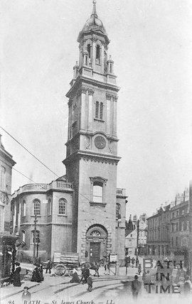 St James Church, c.1900