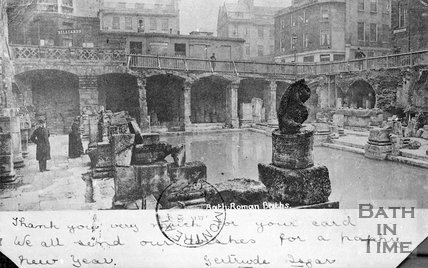 The Roman Baths, Bath, c.1900