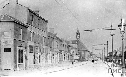 The Twerton Cooperative, Lower Bristol Road, Bath, c.1900