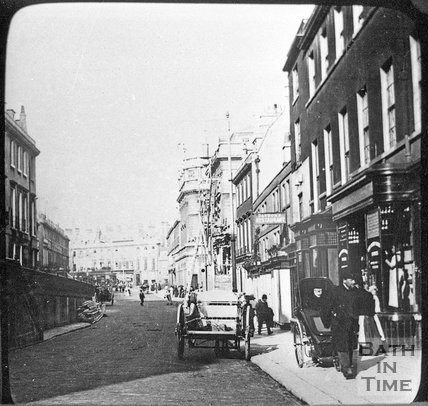 George Street, Bath, c.1880