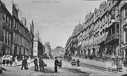 Lansdown Road, Bath, c.1900