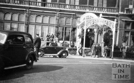 The Admiralty at the Empire Hotel, Orange Grove, Bath, c.1940