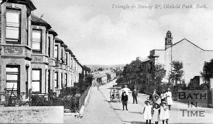 Triangle and Stanley Road, Oldfield Park, Bath, c.1900
