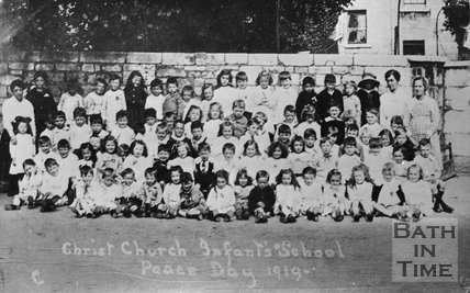 Christ Church Infants School photo, Peace Day 1919