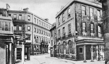 View of the Gainsborough Hotel, Hot Bath and Hetling Pump Room, Bath, c.1910