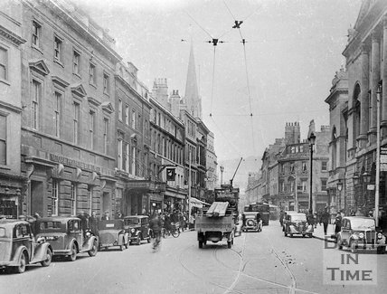 High Street, Bath, c.1930s