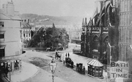 View of Orange Grove from the Christopher Hotel, Bath, c.1880