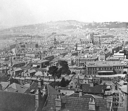 View of Bath from Beechen Cliff, c.1880
