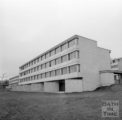 University of Bath Student Accommodation, Bath, 8 November 1971