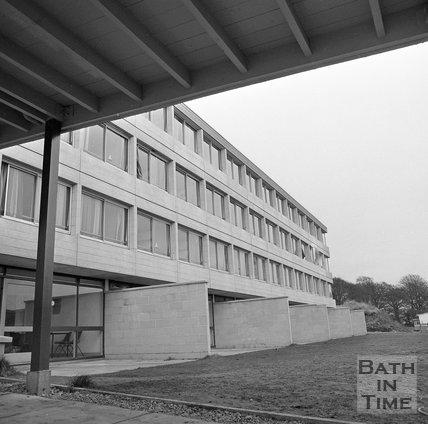 University of Bath Student Accommodation, Bath, 8 November 1971
