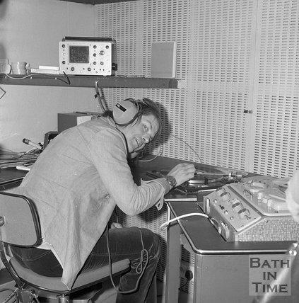The University of Bath radio station opening, 16 May 1973