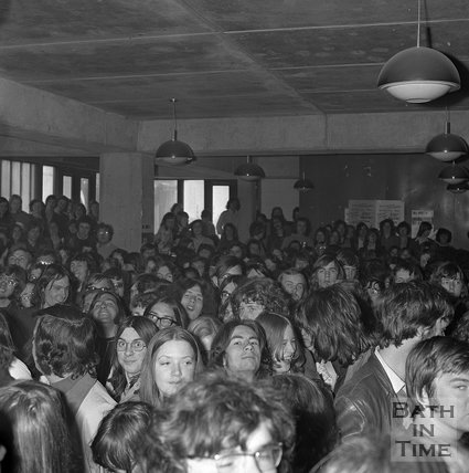 The University of Bath radio station opening, 16 May 1973