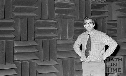 University of Bath acoustic laboratory, 12 November 1973
