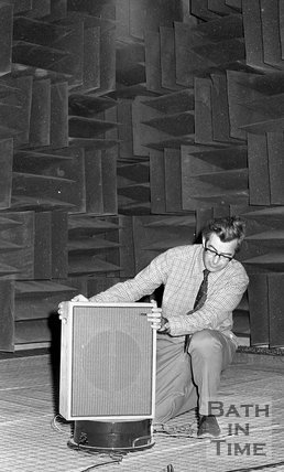 University of Bath acoustic laboratory, 12 November 1973