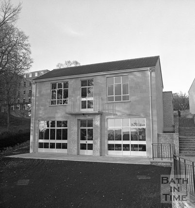 Bath College of Domestic Science, new building on Sion Hill, 5 November 1973
