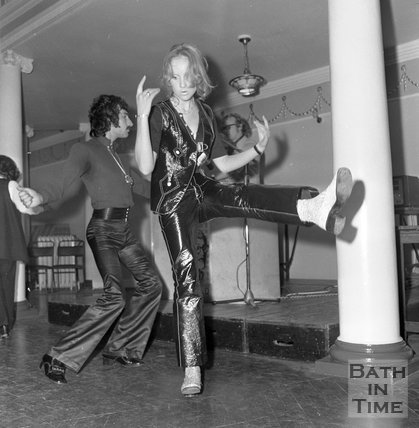 HTV Go Go Dancers auditions at the Octagon Chapel, Milsom Street, Bath, 3 September 1970