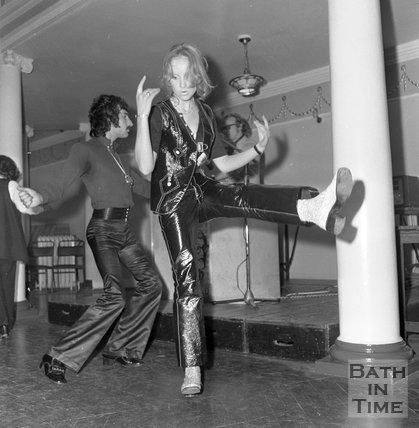 HTV Go Go Dancers auditions at the Octagon Chapel, Milsom Street, Bath, 3 September 1970