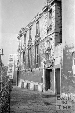St Pauls Parish Hall, St. John's Court, Bath, 23 March 1971