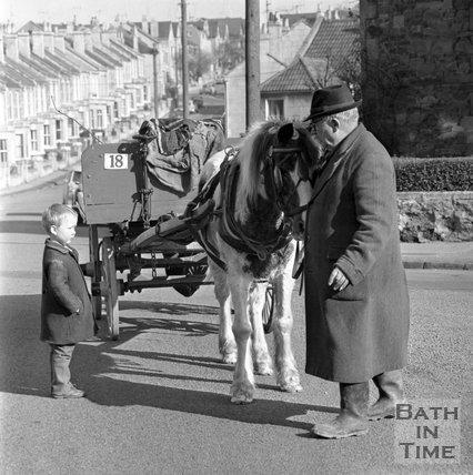 John Connor, Scrap metal merchant, Oldfield Park, Bath, 23 March 1971