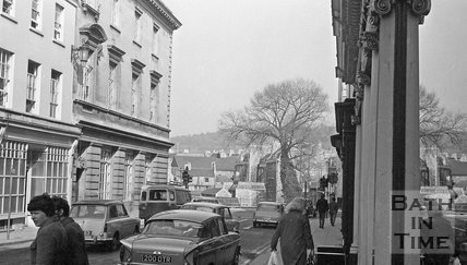 The demolition of Northgate Street, Bath, 14 April 1971