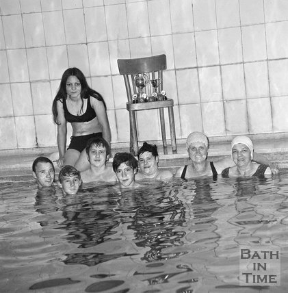 The Bath Fellowship of Polio at the Royal Baths, Bath, 28 June 1971
