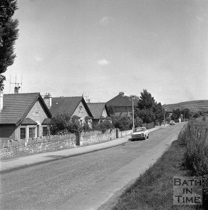 Batheaston Relief Road affected areas, Beckford Gardens, Bath, 14 July 1971