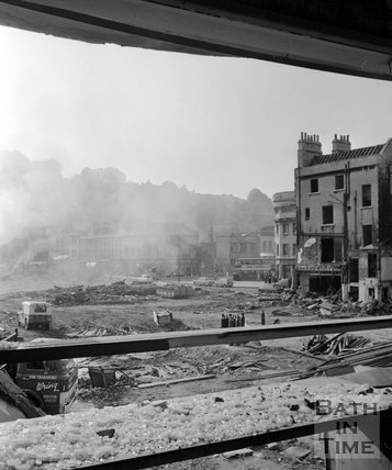 The Demolition of Southgate, 28 October 1971