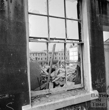 The Demolition of Southgate, 28 October 1971