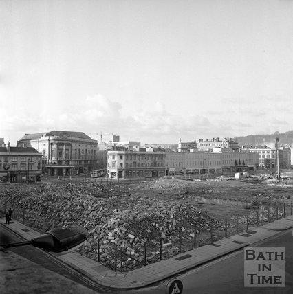 The Demolition of Southgate, 28 December 1971