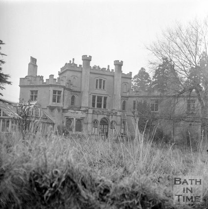 Battlefields House, Lansdown, near Bath, January 1 1972