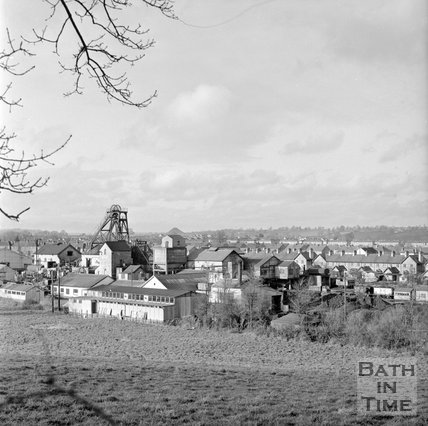A view of the Kilmerston Coal Mine Works, 10 January 1972