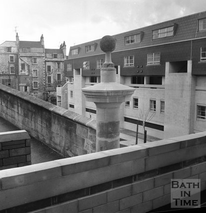 Ballance Street development area, Julian Road, Bath, 1 April 1972