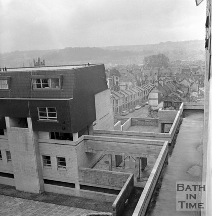 Ballance Street development area, Julian Road, Bath, 1 April 1972