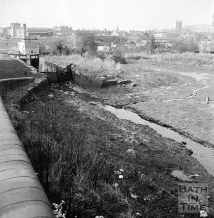 Kennet & Avon Canal, Bath, 14 March 1972