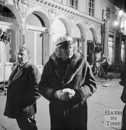 Film director Ken Russell filming Savage Messiah in Bath, 6 April, 1972