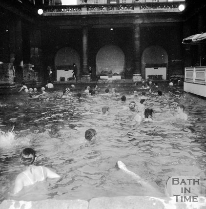 The Roman Rendezvous, Roman Baths, Bath, 1 June 1972