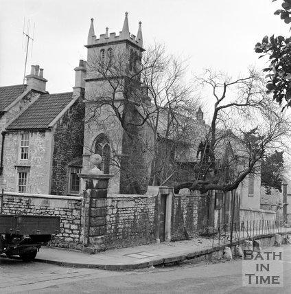 St Mary Magdalen Church, Holloway, Bath, c.1962