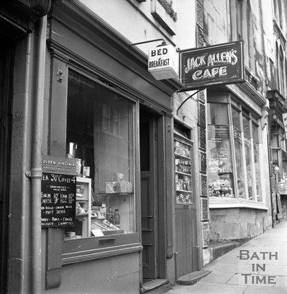 Jack Allen's Cafe, Holloway, 16 August 1962