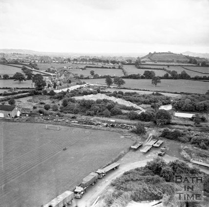 View of St Cuthbert's Mill, near Wells, Somerset, c.1955