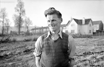 Bath City Football club legend Tony Book, c.1958