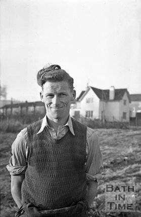 Bath City Football club legend Tony Book, c.1958