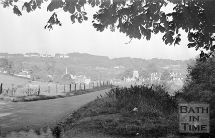 View of Freshford village, Somerset, c.1955
