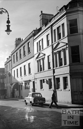 Upper Borough Walls, Bath, c.1955